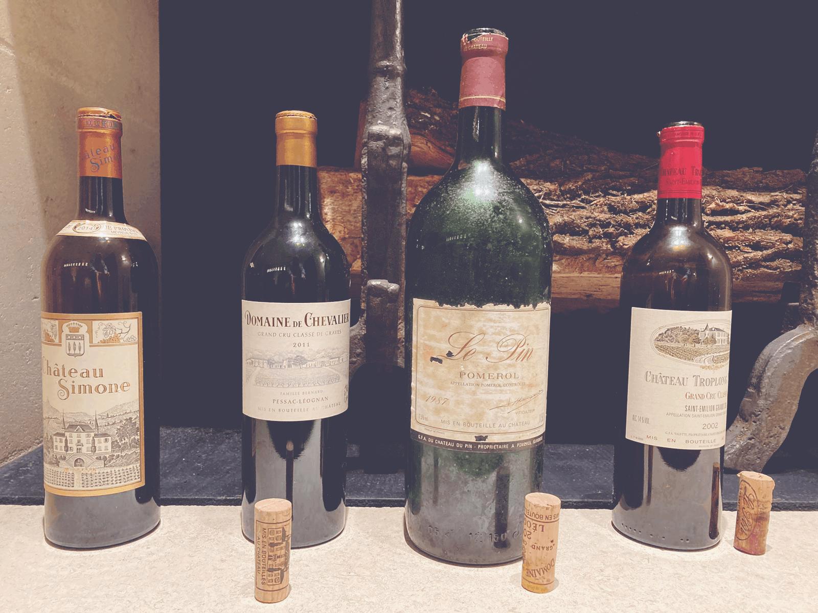 David Desert Island Wines - Magnum of Le Pin