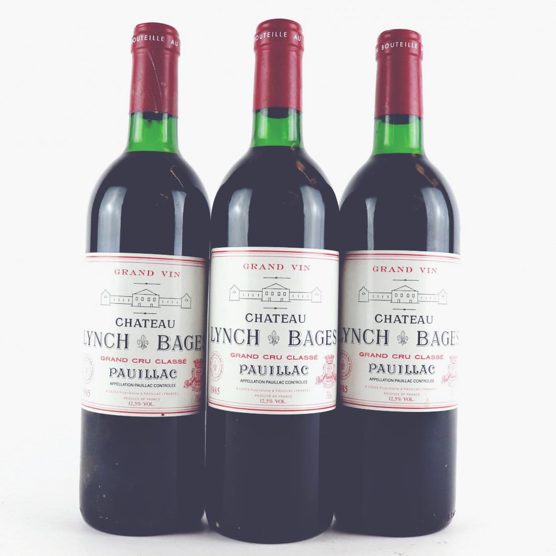 1985 Lynch Bages, Gary Boom Desert Island Wines