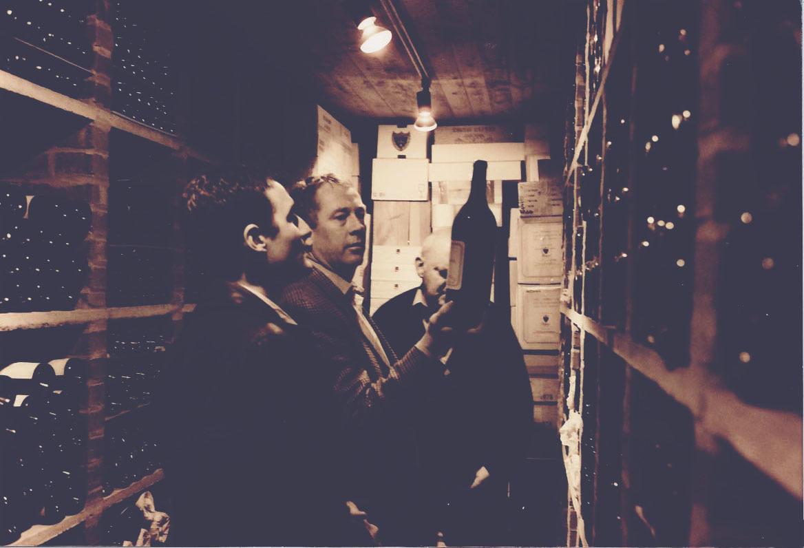 Gary in the cellar, Gary Boom Desert Island Wines