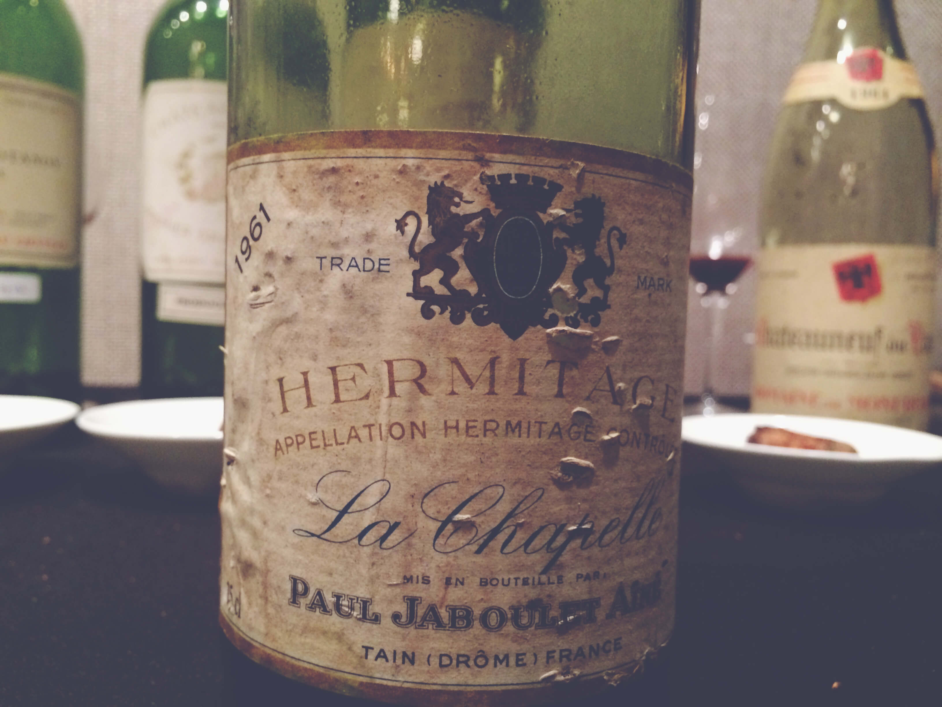 Jaboulet Hermitage La Chapelle 1961, Guy Desert Island Wines