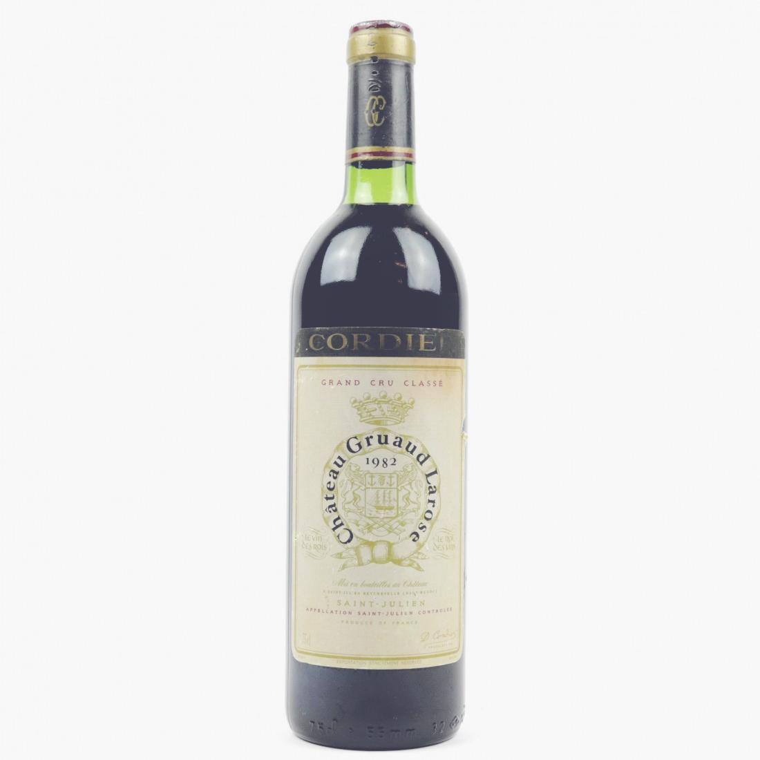 Matt Desert Island Wines - Gruaud LArose 1982