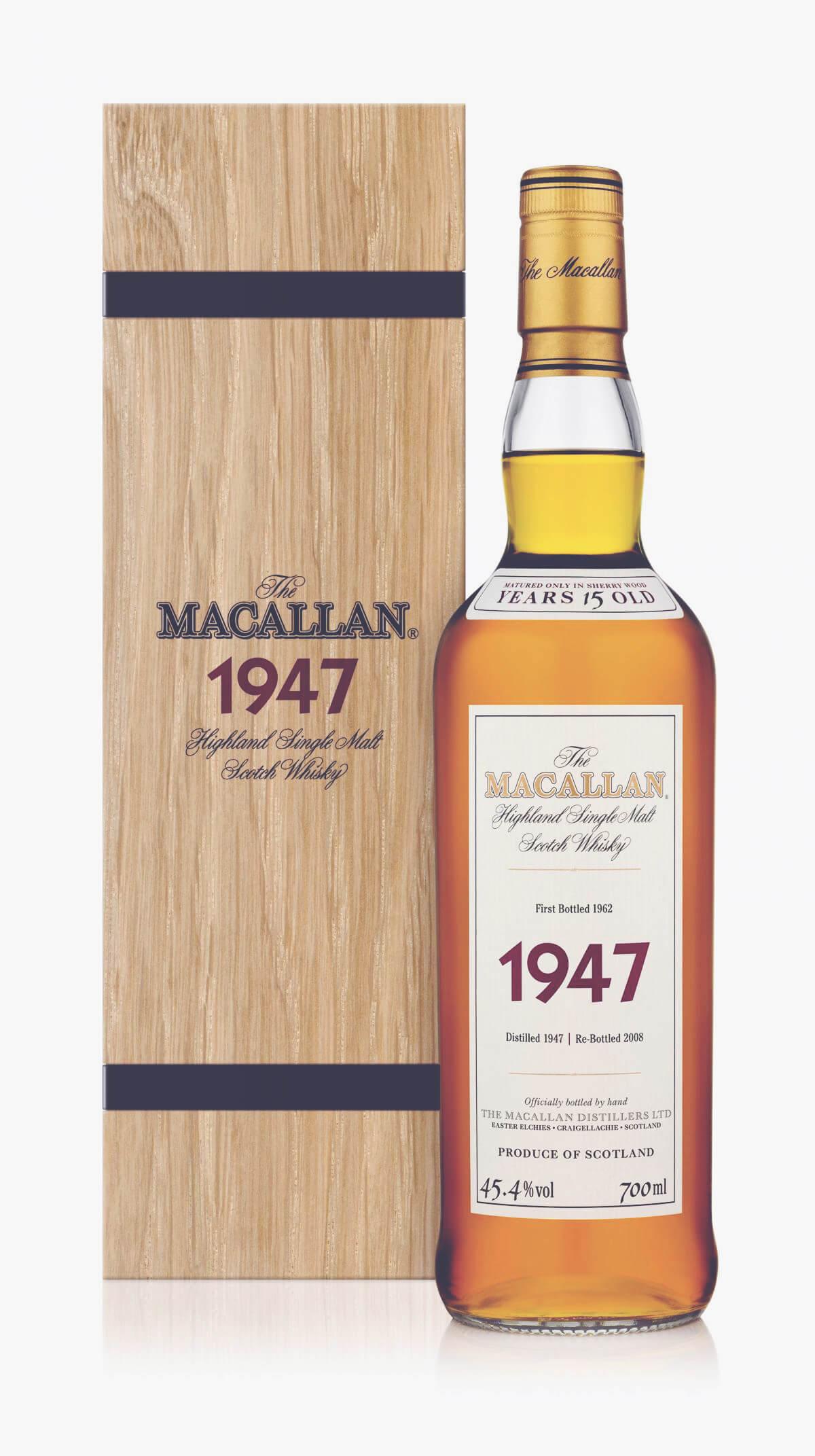 Matt Desert Island Wines - 1947 Macallan