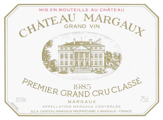 Matt Desert Island Wines - 1985 Margaux