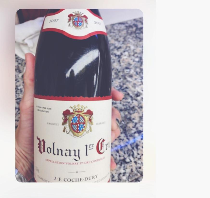 Amanda - Wines in Croatia Volnay Coche Dury