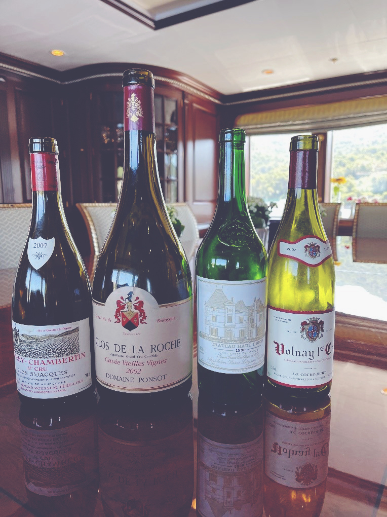 Amanda - Wines in Croatia row of 4