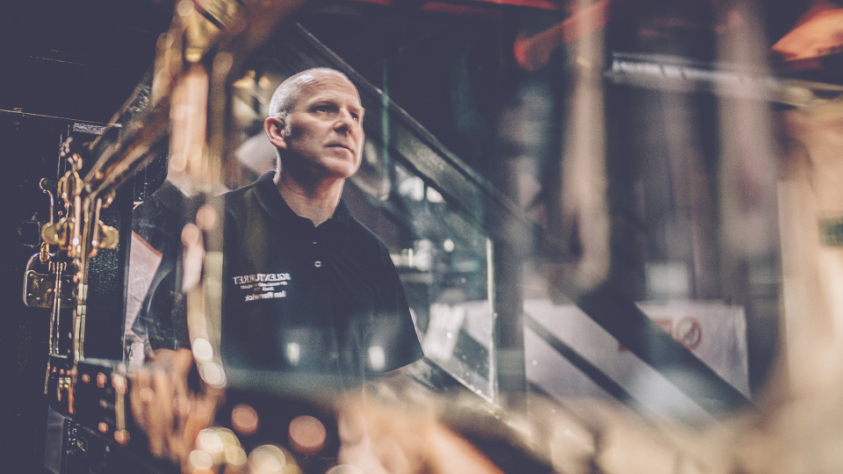 Ian Renwick, Distillery Manager at The Glenturret
