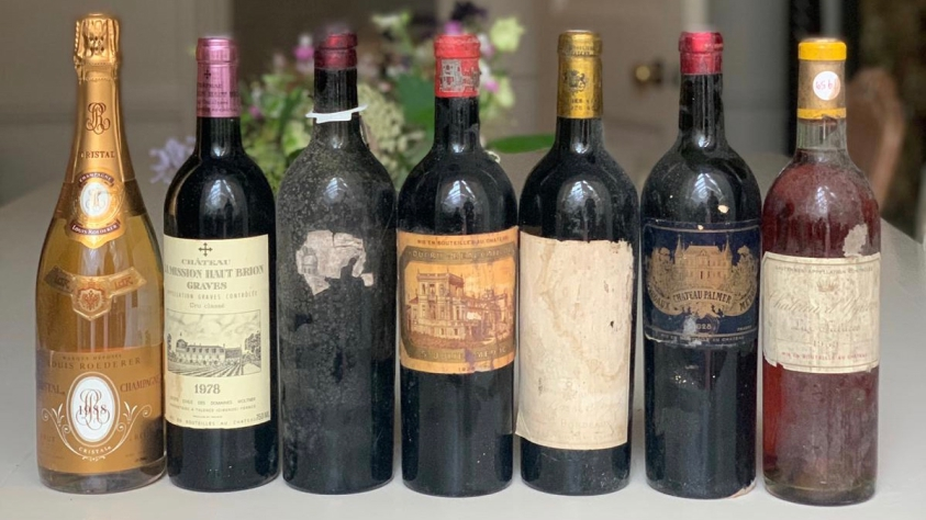 Legendary Bordeaux: 42 years old? Come back when you're 92.