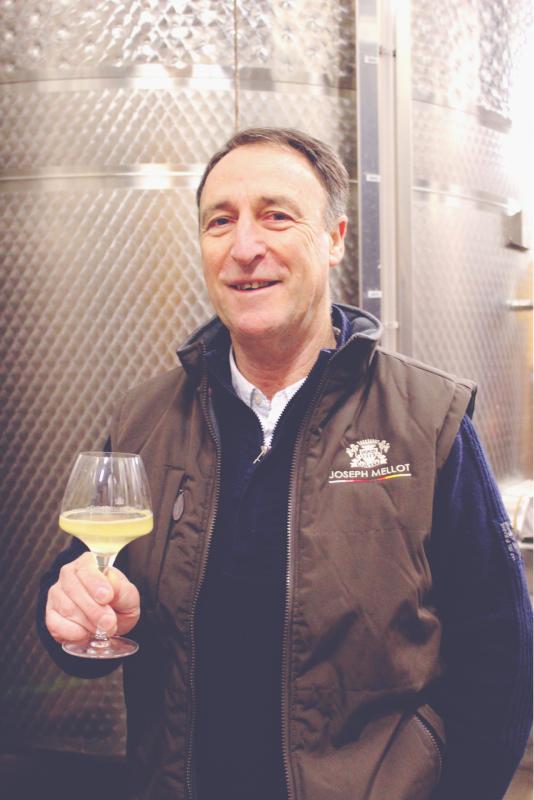 Norbert Buchonnet, Winemaker at Joseph Mellot